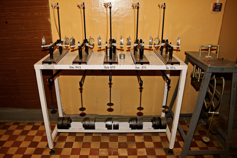 Лаборатория испытания грунтов